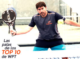 Las palas del Top Ten del World Padel Tour