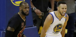 Curry - LeBron