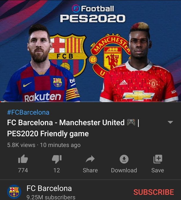El Barcelona Echa Por Tierra La Estrategia De Adidas Con La Camiseta Del United Marketing Deportivo Md